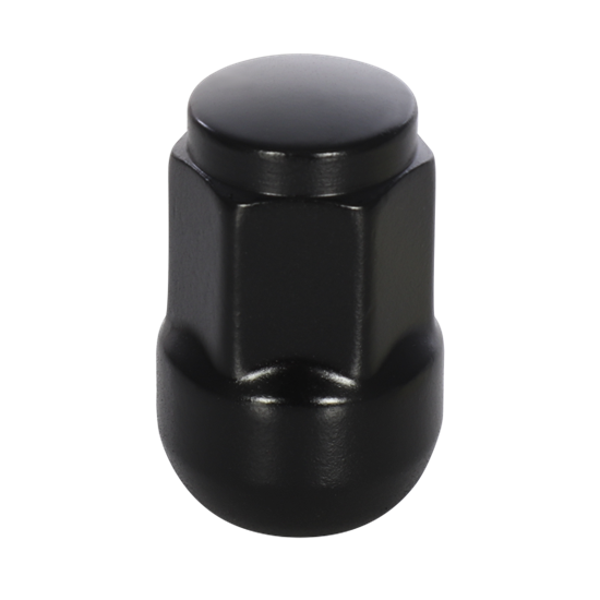 Image sur Closed End Nuts Kit (20Pcs) - 14x1.5mm - Radius - Black